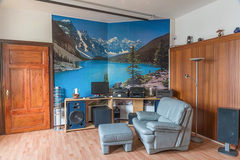 private landferienwohnung im herzen des aller-leine-tals, Wohnzimmer
